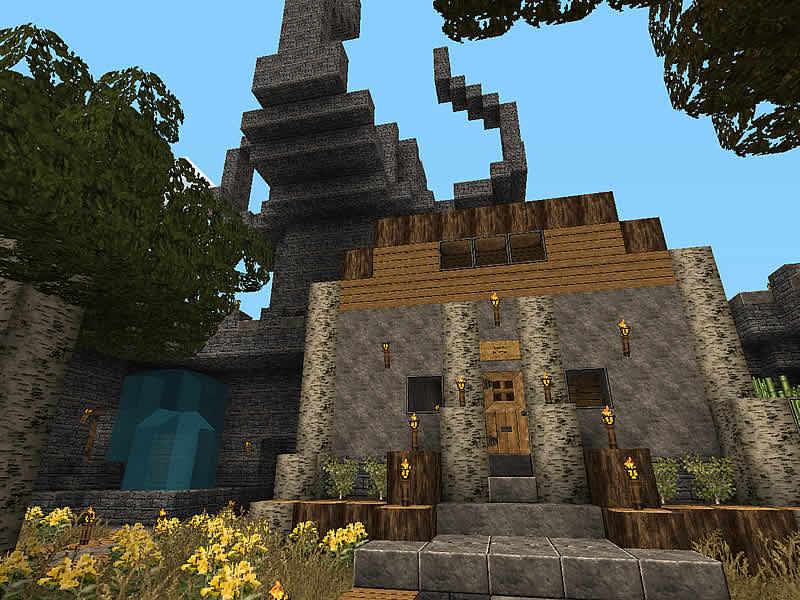 Burg rabenstolz luretania eine minecraft welt - Minecraft bilder ...